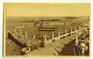 tp2819 - The Bathing Pool , Cliftonville , Kent - postcard