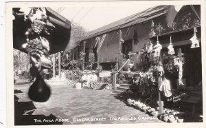 California Los Angeles Olvera Street The Avila Adobe Real Photo sk4838