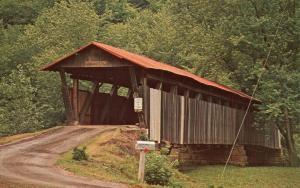 Helmick Covered Bridge over Killbuck Creek near Blissfield, Ohio