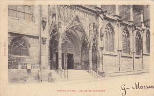 France Eglise de Chaumont Portail St Jean 1902