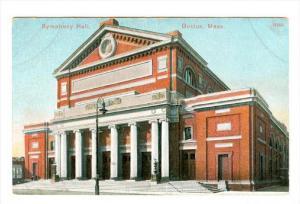 Symphony Hall, Boston, Massachusetts, 00-10´s