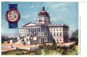 4847  Tuck's no. 2452   South  Carolina  State Capitol  Columbia