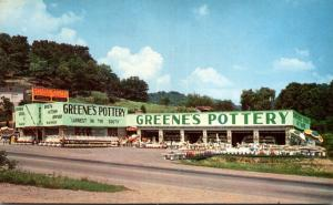 Kentucky Middlesboro Greene's Pottery