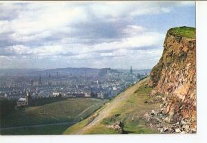 Postal 042712 : Edinburgh. General view from Salisbury Crags on Arthurs Seat