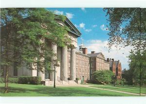 Vintage Post Card Brown University Manning Hall  Robinson Hall  R I  # 4109