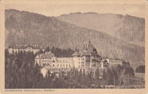 SEMMERING , Austria , 00-10s ; Sudbahnhotel u. Waldhof