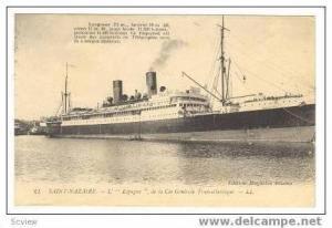 Oceanliner  ESPAGNE , SAINT-NAZAIRE, France 00-10s