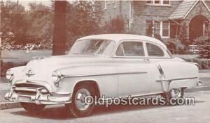 Postcard Post Card 1951 Oldsmobile 88 Super Deluxe 2 Door Sedan
