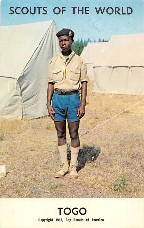 Scouts of the World: Togo (1968 Boys Scouts of America) Uniform