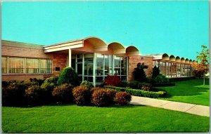 Chicago, Illinois Postcard BELTONE ELECTRONICS CORP. 4201 W. Victoria St. c1950s