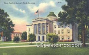 State Capitol Building Raleigh NC Unused