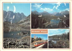 B45364 The High Tatras Strbske Pleso train multiviews   slovakia