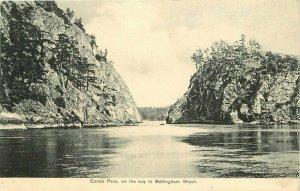 Bellingham Washington Canoe Pass Puget Sound #652 1907 Postcard 20-3911