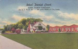 Ideal Tourist Court, US Route 301, Dunn, North Carolina 1930-40s