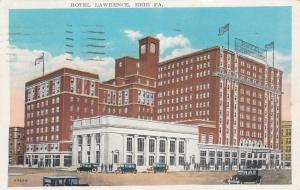 ERIE , Pennsylvania, 1928 ; Hotel Lawrence