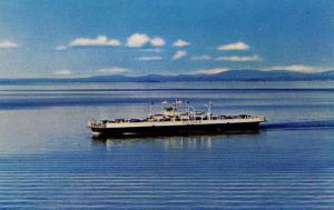 VT - Burlington. MV Valcour- Ferry on Lake Champlain