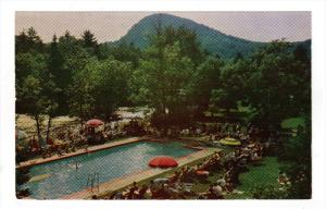 STE. MARGUERITE, Quebec, Canada; A Water Ballet, Swimming Pool, Alpine Inn, N...