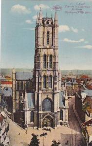 Belgium Gent Gand Tour de la Cathedrale Saint Bavon