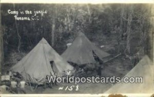 Camp in the Jungle Republic of Panama Unused