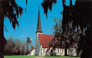 Stateburg South Carolina~Church Of Holy Cross~1960 Postcard
