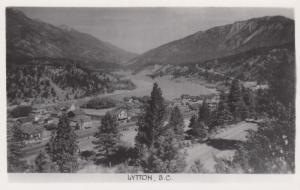 RP: Panorama , LYTTON , B.C. , Canada , 1930-50s