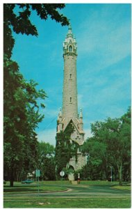 Postcard - Old Water Tower at North Point Pumping Station, Milwaukee, Wisconsin