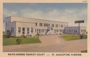 Florida Saint Augustine Davis Shores Tourist Court
