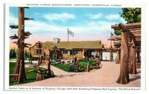 Southern Cypress Manufacturers Association, 1933 Chicago World Fair Postcard