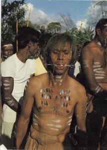 BF17978 l ile maurice mauritius ceremonie de la marche types  front/back image