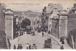 BREST, Finistere, France, 1900-1910´s; Recouvrance, La Porte du Conquet