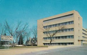 SOUTH BEND, Indiana; Osteopathic Hospital, Classic Cars, 1940-60s