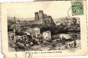 CPA LYON Vue du Chateau de l'ARBRESLE (444431)