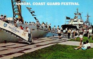 Michigan Grand Haven Annual Coast Guard Festival Open House