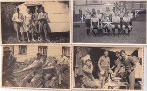Labour Weekend Wellington College New Zealand WW2 4x PB Postcard Photo s
