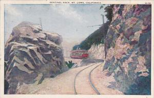 Sentinel Rock Mount Lowe California