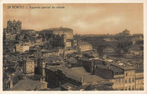 Portugal Porto Aspecto Parcial da Cidade Bridge River Church Postcard