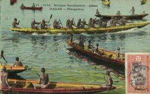 CPA AK Sénégal Afrique Fortier 21-2128. Dakar - Piroguiers (68292)