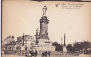 DIJON, Monument eleve a la Memoire des Combattants de 1870-71, Cote d´Or, Fr...