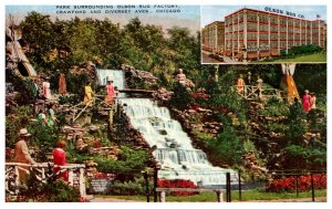 Illinois Chicago Rug Company , Waterfall ,Rock Gardens Olson Park