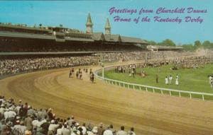 LOUISVILLE , Kentucky ,50-60s ; Churchill Downs Horse Race Track #1