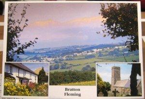 England Bratton Fleming North Devon - posted 1979