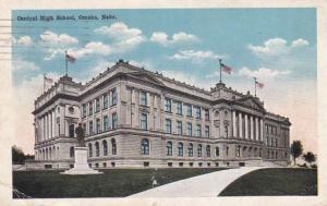 Nebraska Omaha Central High School 1917
