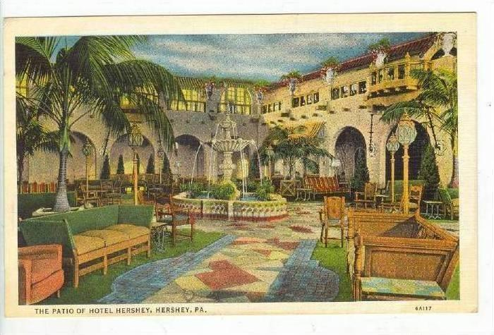 The Patio Of Hotel Hershey,Hershey,Pennsylva nia,00-10s