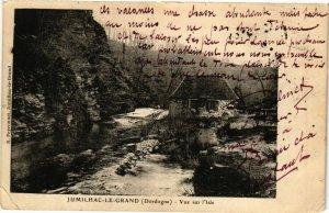 CPA JUMILHAC-le-GRAND-Vue-sur-l'ISLE (233252)