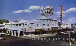 Gambling Postcard Las Vegas, NV, USA Hotel El Cortez