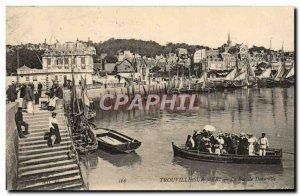 Old Postcard Trouville sur Mer Deauville bin