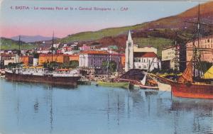 Oceanliner/Ship/Steamer, Le Nouveau Et Le General Bonaparte- Cap, BASTIA (H...