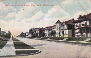 Residence Street On Capitol Hill, SEATTLE, Washington, PU-1928