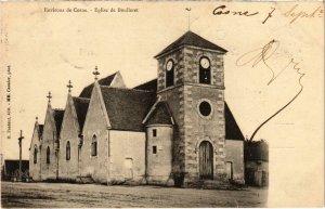 CPA Env. de COSNE Église de Boulleret Nievre (100492)