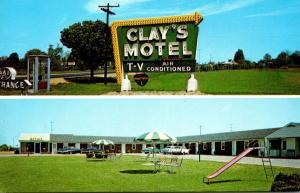 Delaware Glasgow Clay's Motel